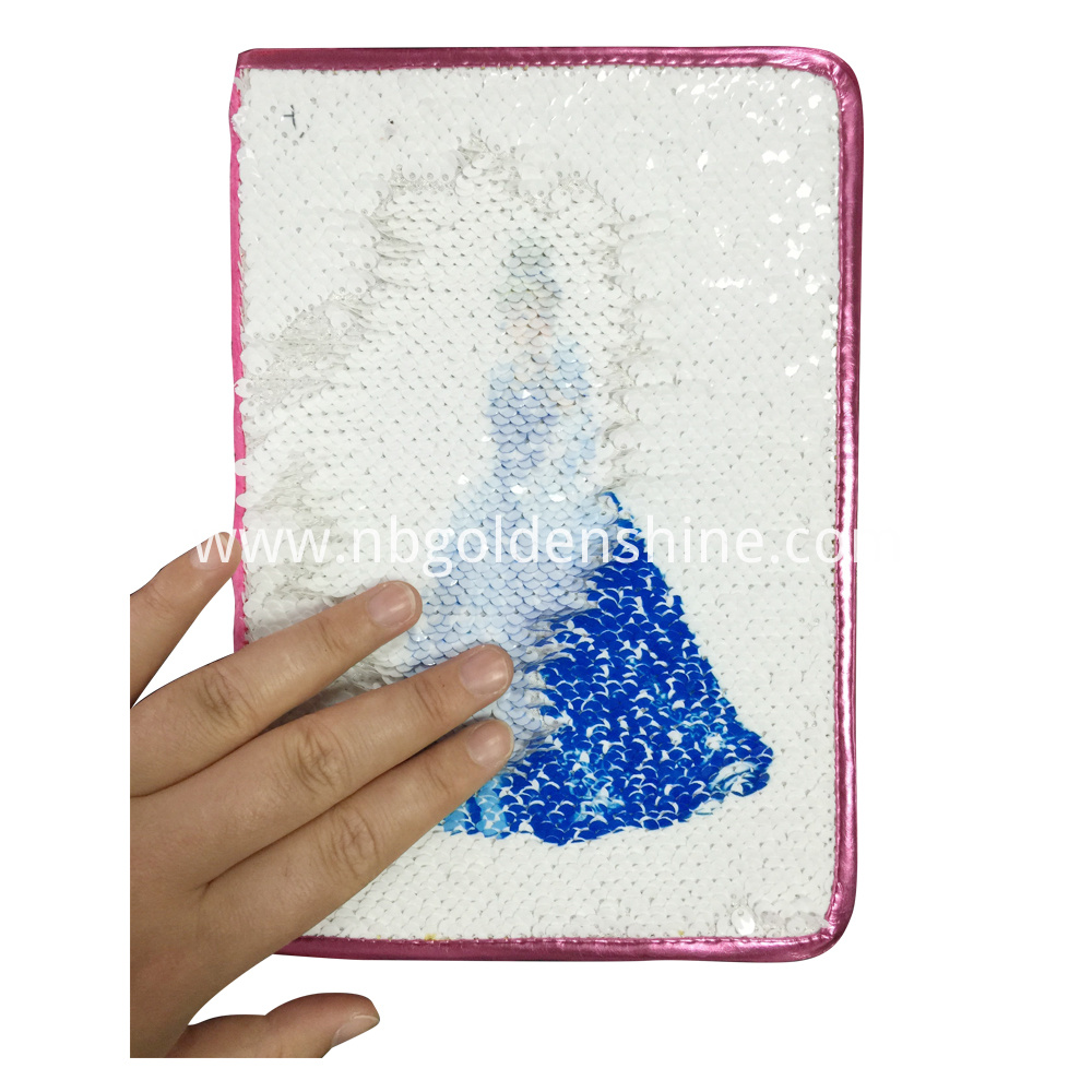 Sequin Magic Notebook