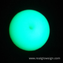 Realglow Photoluminescent Demo Blauwgroen