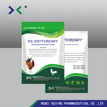 Erythromycin Thiocyanate 5% Soluble Powder poultry