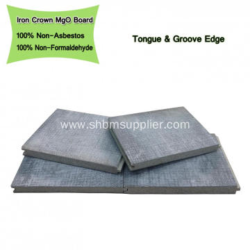 15mm Magnesium Oxide Board with Concave-convex Edge