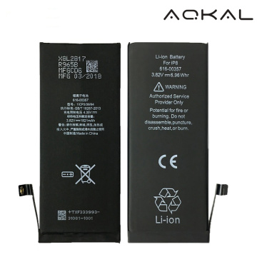 Batterie de Li-ion de rechange d'iPhone8 avec l'original Texas IC