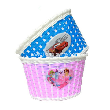 Small Size 16 Inch Children Bike Basket
