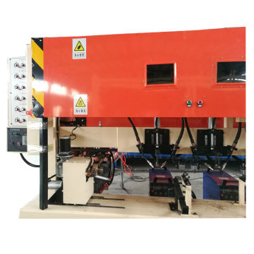 CNC Welding Equipment for Ringlock Scaffolding Vertical Pole