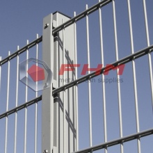 PVC Coated Galvanized Double Horizontal Wire Fence