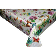 Pvc Printed fitted table covers Table Linens Elegant