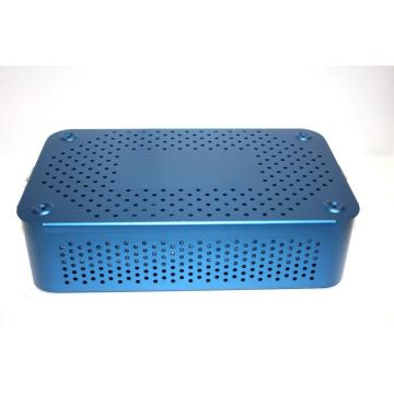 Aluminum sterilization tray box case for Surgical Instrument