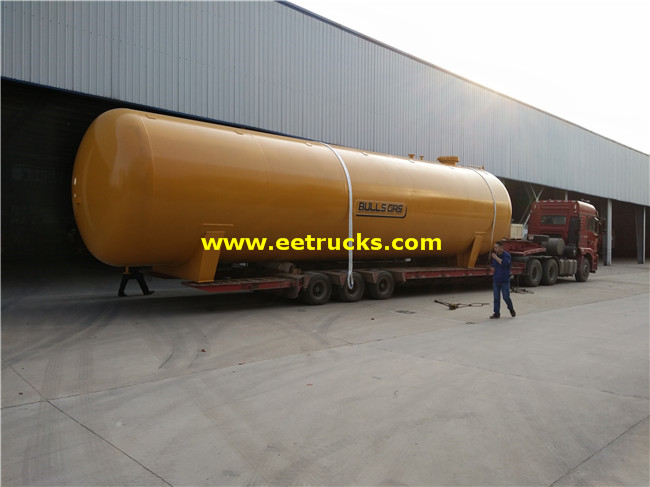 BV Certification LPG Pressure Tanks