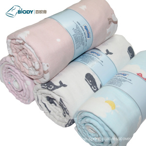 Leading Manufacturer for for Baby Muslin Multilayer Blanket Professional 100% Microfiber Baby Multilayer Blanket export to Germany Factory