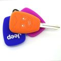 Rubber remote key cover for Jeep car key