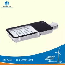 High reputation for China Led Street Light,Led Solar Street Light,Led Road Street Light Supplier DELIGHT DE-AL01 60W Solar Public LED Street Lighting supply to Libya Factory