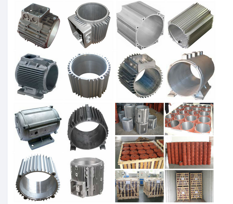 Aluminum Motor Housing Components
