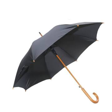 30 inch big size custom wooden handle umbrella