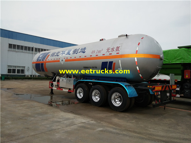 26MT Liquid Ammonia Tank Trailers