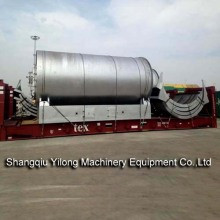 Waste Tyre Oil Extraction from Waste Tyres Machine