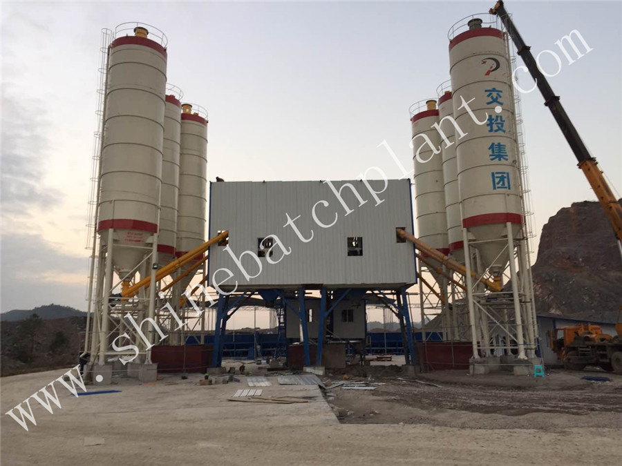 60 Concrete Batching Plant 01