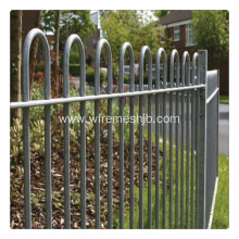 1.4m height bow top fence