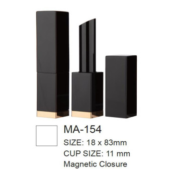 Magnetic Square Slim Lipstick Container