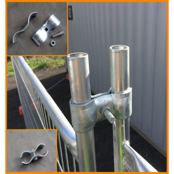 Galvanized Steel Fence Clamp and Clips
