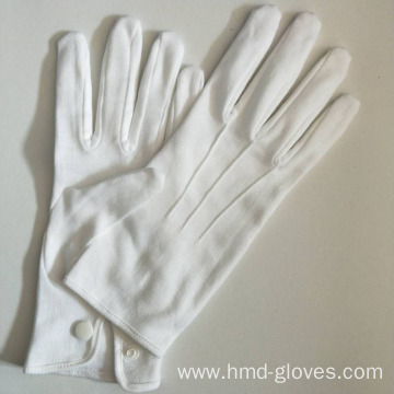 Organic White Cotton Uniform Waiters Gloves