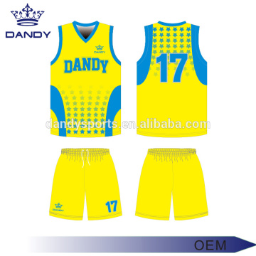 Custom Reversible Basketball Jerseys With Numbers