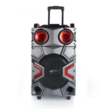 Portable karaoke mobile active speaker system