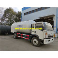 15cbm HOWO Propane Dispenser Tanker Trucks