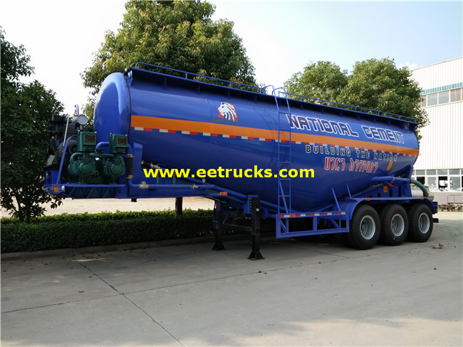 Tri-axle Bulk Grain Trailers