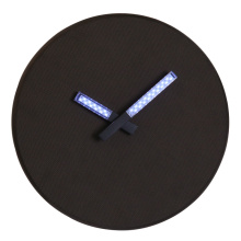 LED Wall Light Clock with Luminous Hand
