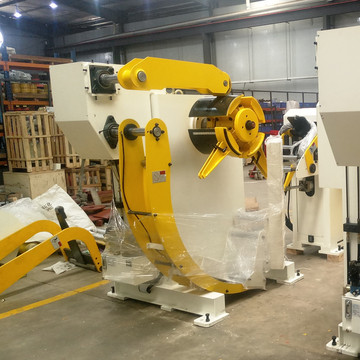 Hydraulic Uncoiler Straghtener machine