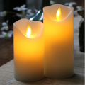 Decorative Votive Candle Remote Control Operated LED Flame