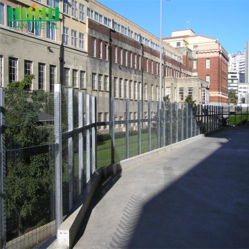 High Security Fence Galvanized 358 Fence Welded Fencing