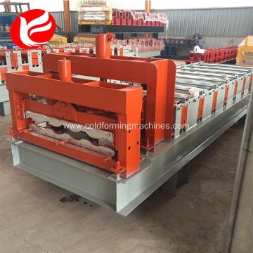 Galvanized metal glazed tile roofing panel sheets machine