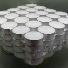 4hours 14g White Smokeless Tealight Candles