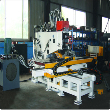 CNC Steel Plate Hydraulic Punching Marking Machine