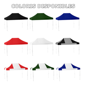 3X6M Folding Gazebo Marquee Pop Up Outdoor Canopy