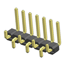 2.54mm Pin Header SMT Type Plane Bending