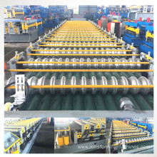 color steel corrugated roof machine