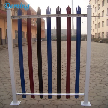 Factory PVC Coated Palisade Iron fence for Sale