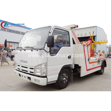 2019 New ISUZU 3tons Heavy Wrecker Tow trucks