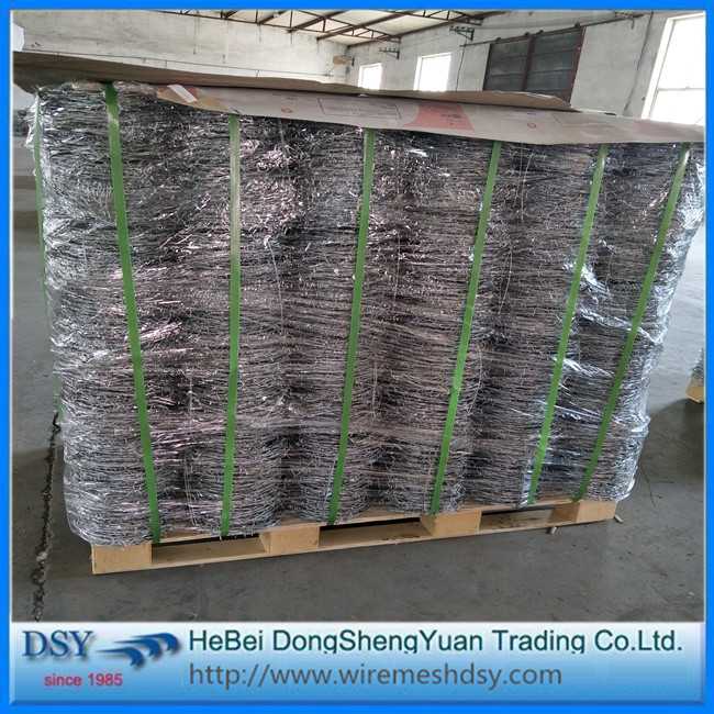 High Quality Electro Galvanized Barbed Iron Wire