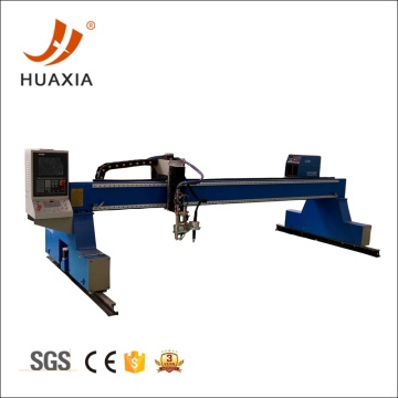 Gantry cnc oxygen plasma cutting machine