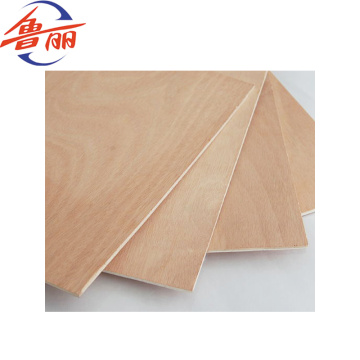 Furniture grade commercial okoume plywood