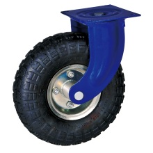 10'' industrial pneumatic casters with ball bearing