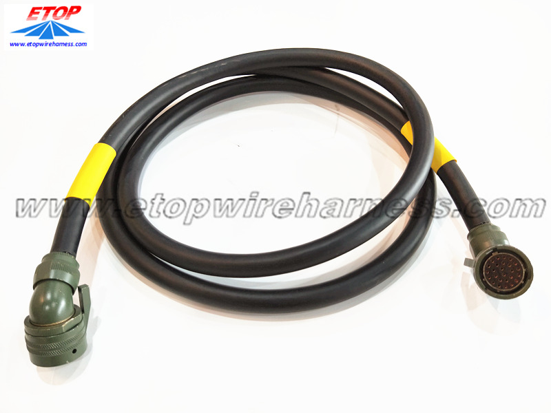 power wire assemblies with 26pin industry connector
