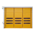 High Quality Fast Piling Up Stacking Garage Door