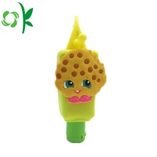 Cartoon Design Silicone Protector for Hand Sanitizer