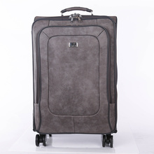 Good Quality for Leather Pu Luggage Bags Fashion design wholesale vintage leather luggage supply to Qatar Supplier