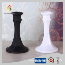 Leading for Tall Candle Holders Mini Clear Glass Dinner Candlestick Holder supply to Poland Manufacturer