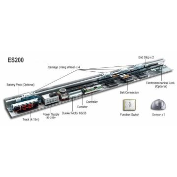 Dorma ES200 automatic door opener systems