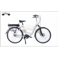 26 inch wheel low frame electric bike Aluminum Alloy city E Bike for lady